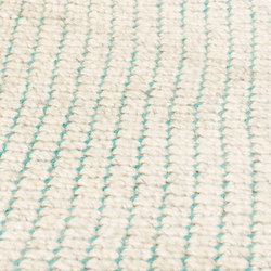 Nordic Flower ivory & turquoise | Rugs | kymo