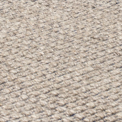 Nordic Plain nature & denim blue | Rugs | kymo