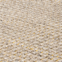 Nordic Plain nature & yellow | Rugs / Designer rugs | kymo