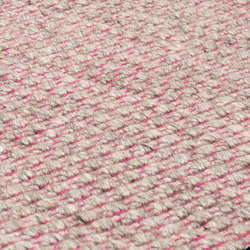 Nordic Plain nature & pink | Rugs | kymo