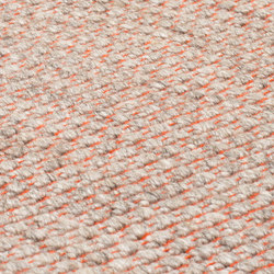 Nordic Plain nature & orange | Rugs / Designer rugs | kymo