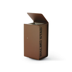 Yes | Exterior bins | Metalco