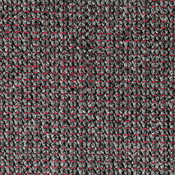The Grid anthracite & red | Rugs / Designer rugs | kymo