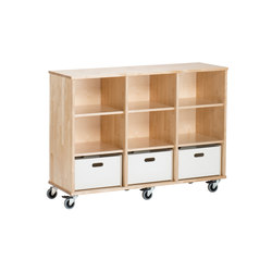 Otto modular cabinet OT73AAA | Kids storage furniture | Woodi