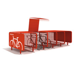 Bike Box | Tettoie biciclette | Metalco