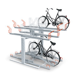 Biplano | Bicycle stands | Metalco