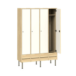 Wardrobe for adults W218 | Lockers | Woodi