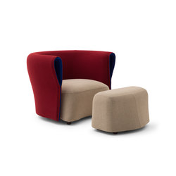Bison | Lounge chairs | Cappellini