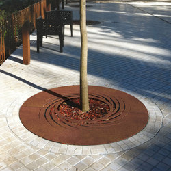 Twister | Tree grates / Tree grilles | Metalco