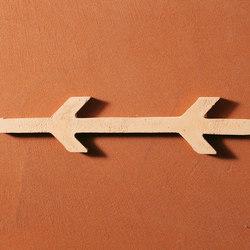 Exit | Cotto rosso | Barro yeso | Matteo Brioni