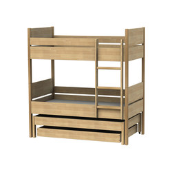 Bed for children bunk bed B502 | B552 | B505 | B506 | Kinderbetten / -liegen | Woodi
