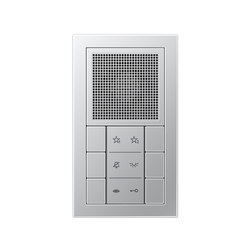 LS-Design Aluminium Audio-Interior-Station | Citofoni ingresso | JUNG