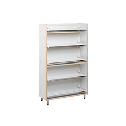 Shoe rack heatable ETL105-90 | Cloakrooms | Woodi