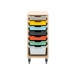 Osku modular cabinet OS81L | Kids storage furniture | Woodi