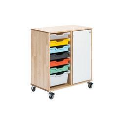 Osku modular cabinet OS82L | Kinderschrankmöbel | Woodi