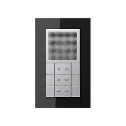 LS Plus Aluminium Audio-Interior-Station | Stations de porte | JUNG