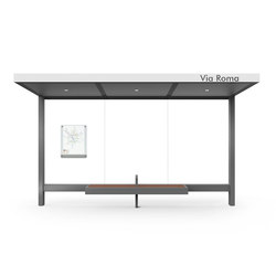 Hut | Bus stop shelters | Metalco