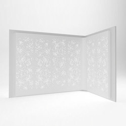 Light Wall configuration 2 | Sistemi divisori stanze | isomi Ltd