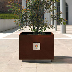 Dahlia | Macetas plantas / Jardineras | Metalco