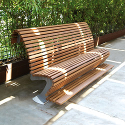 Trono Pouf Divano | Exterior benches | Metalco