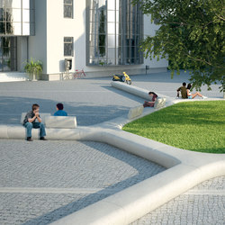 Treeline | Exterior benches | Metalco