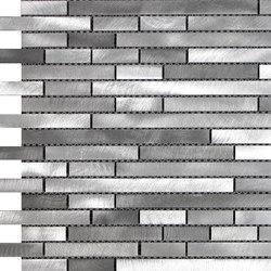Future malla acero plata | Ceramic mosaics | KERABEN