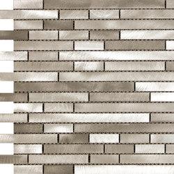Future malla acero bronce | Mosaicos | KERABEN