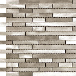 Future malla acero bronce | Mosaici | KERABEN