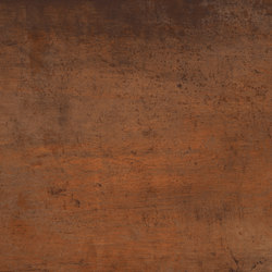 Techlam® Steel Collection | Corten | Baldosas de suelo | LEVANTINA