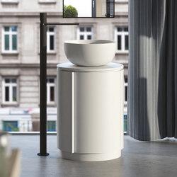 Arcadia Tiberino cabinet and round top | Armarios lavabo | Ceramica Cielo
