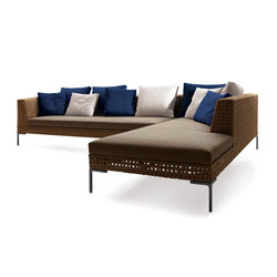 Aston Quot Cord Quot Outdoor Garden Sofas From Minotti Architonic