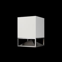 Cube Corian white | Soundsysteme | Architettura Sonora