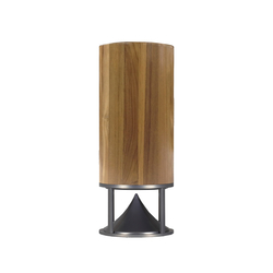Cylinder Tall teak | Sound systems / speakers | Architettura Sonora