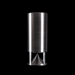 Tall Cylinder steel | Sound systems | Architettura Sonora