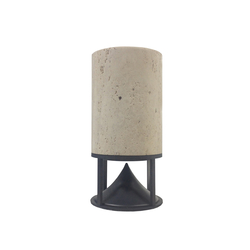 Medium Cylinder travertine | Sound systems | Architettura Sonora