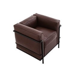 LC2 armchair eco-friendly | Lounge chairs | Cassina