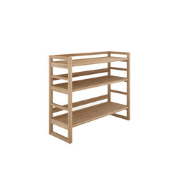 Oak Skelet rack small | Regale | Ethnicraft