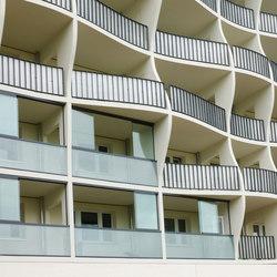 GM TOPROLL PARAPET | Balcony glazing | Glas Marte
