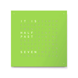 QLOCKTWO® LARGE Custom Color RAL | Clocks | BIEGERT&FUNK