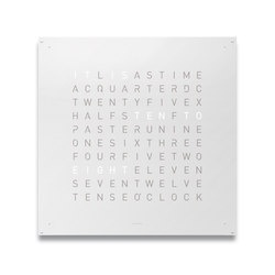 QLOCKTWO® LARGE White Pepper | Clocks | BIEGERT&FUNK