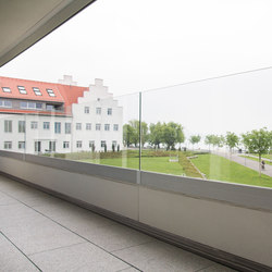 GM RAILING® Side | Balcony glazing | Glas Marte