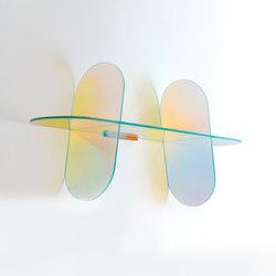 Shimmer mensole | Wandregale / Ablagen | Glas Italia