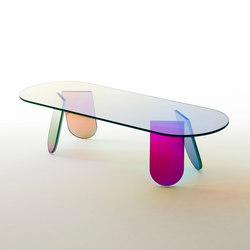 Shimmer tavolini | Mesas de centro | Glas Italia