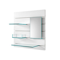 In-fila 01 | Wall shelves | Tonelli