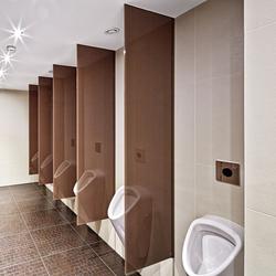 GM CABINMART® Urinal- und Sichtschutzwände | Partitions | Glas Marte