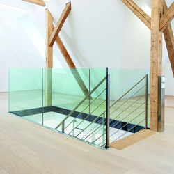 GM RAILING® Plan | Glass balustrade panels | Glas Marte