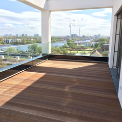 GM RAILING® Front | Balcony glazing | Glas Marte