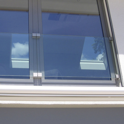 GM WINDOORAIL® Frameless | Window grilles | Glas Marte