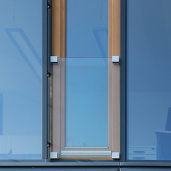 GM WINDOORAIL® Frameless | Inferriate per finestre | Glas Marte