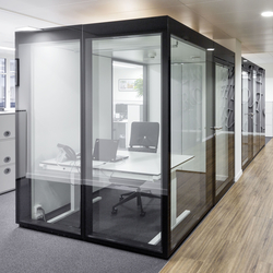 GM MARTITION® Raum in Raum | Office Pods | Glas Marte